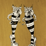 Legs: March Silkscreen of the Month