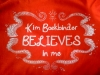 Kim Boekbinder Believes in Me!